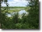 Wisconsin Waterfront 56 Acres Pokegama Lake, Minong, WI