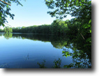 Waterfront Land on Sisley Pond NY 5 acres