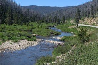 Willow Creek, Claim creek