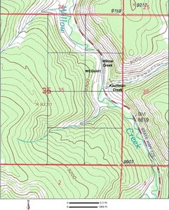 Claim Topography Map pdf file