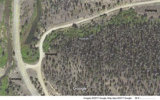 Claim camping areas satellite view