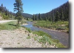 19 acre Colorado Gold Mining Claim w/Creek