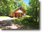 New York Hunting Land 5 Acres Hunting Cabin Bordering NY State Forest
