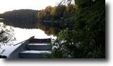 Quebec Waterfront 30 Square Feet Terrain au bord de l'eau avec petit chalet