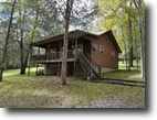 Tennessee Land 1 Acres 1.34 ac w/cabin joins corp walk to lake
