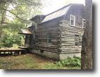 49 acres Log Home Bolivar NY Forman Hollow