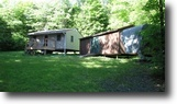 40 Acres Cabin and Camper Bordering State