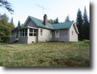 New York Land 2 Acres House in Adirondacks near Piseco Lake