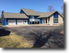 Michigan Waterfront 4 Acres Custom 4BR on Lake Superior