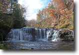 20 acres Cabin 2 Waterfalls in Ossian NY