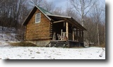38 acres Log Cabin Cortland NY Hunting