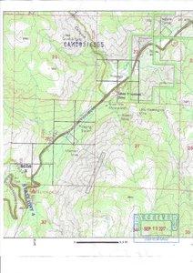 BLM registered claim map