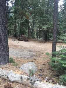 Nearby Silver Creek Campground, or camp on your claim