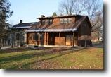 New York Waterfront 2 Acres Log Home Mexico NY 569 Co Route 16 River