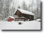 12 acres Cabin Camden NY borders Forest