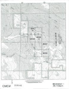 BLM registered map