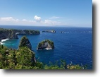 Indonesia Waterfront 500 Square Meters Lots in Nusa Penida Island, Bali - Cliff