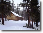 Colorado high country cabin with acreage