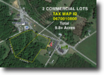 2- 4.9 +/- Acre Commercial Parcels