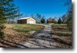 Tennessee Farm Land 50 Acres 50ac W/2 Story Log Siding Hm, Garage