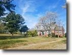 4 BR/2 BA Brick Cape Cod Home on 2.8 Acres