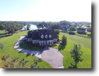 Florida Waterfront 4 Acres Canterwood Estate in Mulberry, Florida