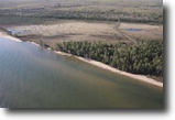 Michigan Waterfront 1 Acres 21771 Pine Beach Dr.  MLS #1078663