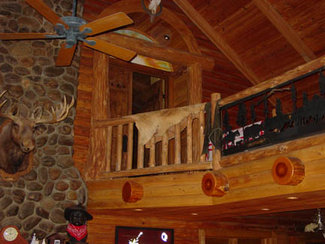 2-storied Log Home