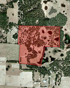 Aerial of Levy Oaks Ranch