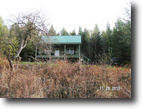 New York Hunting Land 65 Acres Cabin Bordering State Forest Trail Access