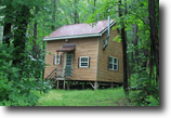 New York Hunting Land 6 Acres Land & Cabin Bordering State Forest