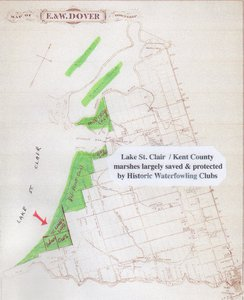 Location among Lake St.Clair Historic Clubs