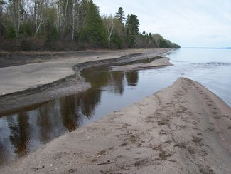 Mouth of Trout Creek