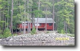 Ontario Waterfront 2 Acres Exceptional Log Home