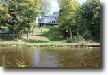 New York Hunting Land 1 Acres Riverfront Home bordering State Forest
