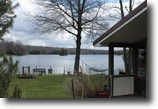 New York Waterfront 1 Acres Waterfront Home on Private Lake Orwell NY