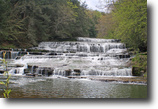 50 acres in Ossian NY Waterfall on River