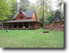 New York Waterfront 12 Acres Lodge 6 Cabins on Private Lake in Amboy NY