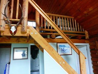 Cabin 2, to the loft