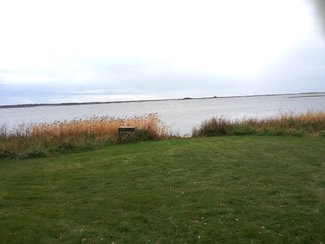 Westerly view from Lodge site