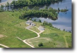 Michigan Waterfront 11 Acres W4981 New York Lake Rd (10.89) Mls 1104833