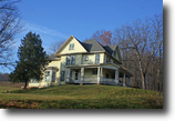 30 acres Farmhouse Barn Springwater NY