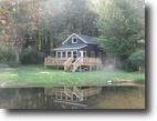 35 Acres Cabin with Pond near Salmon River