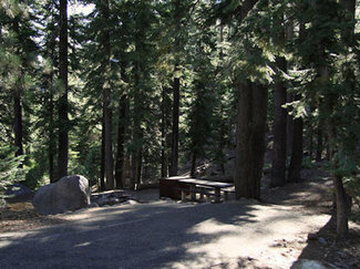 Silver Creek Campground down the road