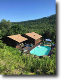 New York Hunting Land 14 Acres House Pool Olean NY 2032 Wayman Branch Rd