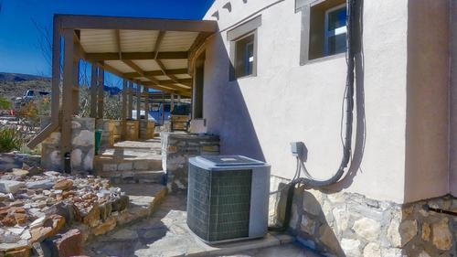 custom adobe home on land property alpine texas