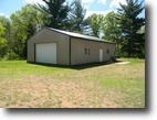 Wisconsin Waterfront 7 Acres Lower Kimball Lake, Minong, Wi