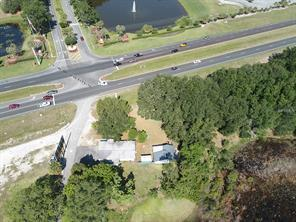 intersection of us 27 & plantation blvd, with stop light florida