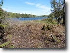 Quebec Land 73 Square Feet Superb waterfront land for chalet or house