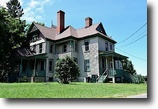 92+ acres, renovated Victorian home & barn